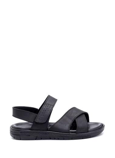 Derimod Erkek Sandalet(X) Casual Siyah